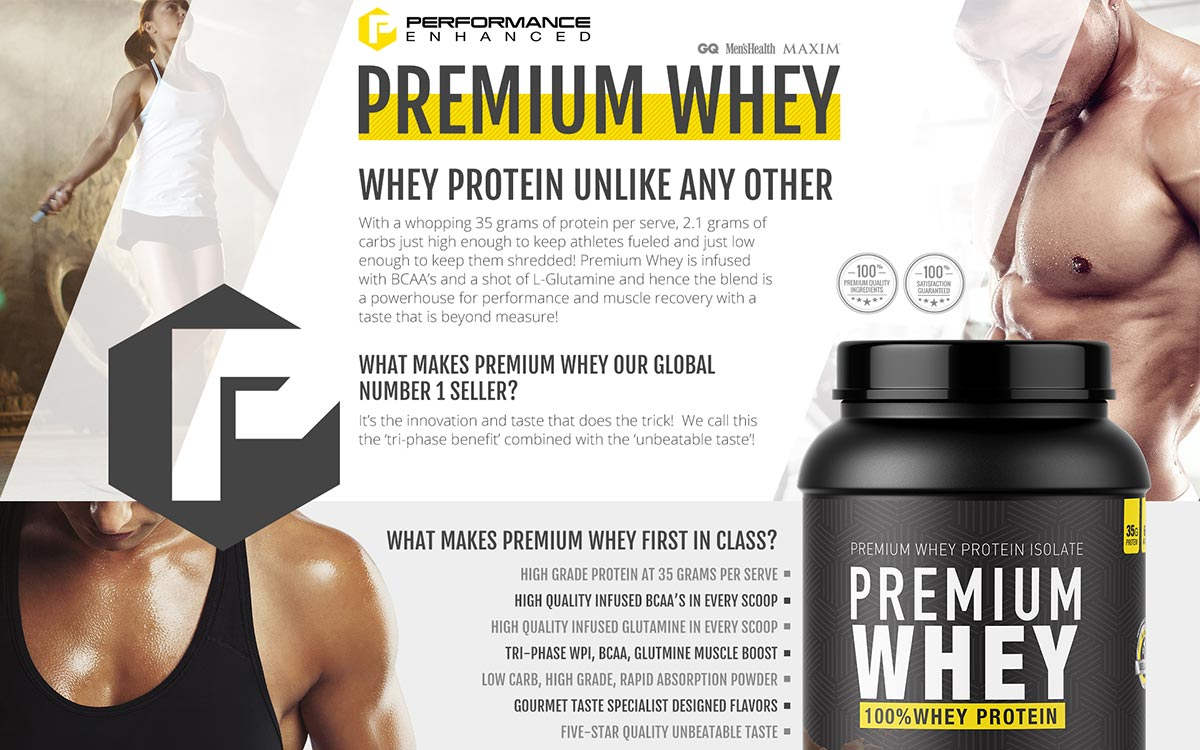 Performance Enhanced Whey
